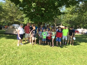 Intergeneration Camping at Sampson State Park